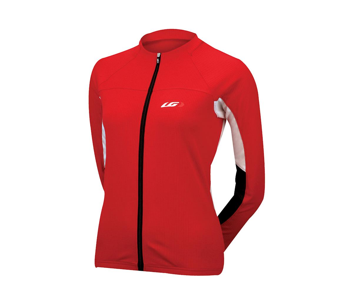 Louis Garneau Women's Thermal II Long Sleeve Jersey - Performance Exclusive (Red)