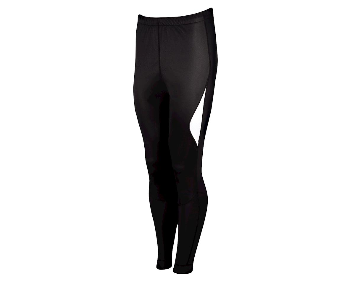 Louis Garneau Warrior Softshell Tights - Performance Exclusive (Black/White)