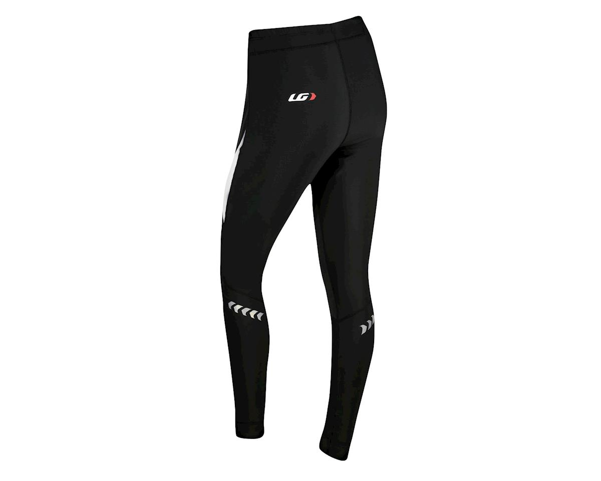 Louis Garneau Women's Warrior Softshell Tights - Performance Exclusive (Black/White)