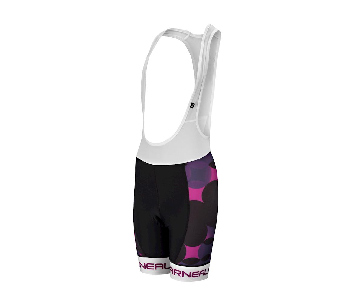 Louis Garneau Women's Tour Bib Shorts - Performance Exclusive (Black/Purple)
