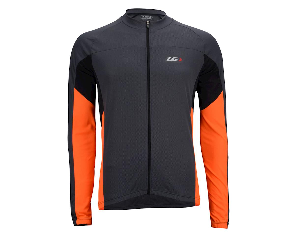 Louis Garneau Volta Light Long Sleeve Jersey -- Performance Exclusive (Black/Orange)