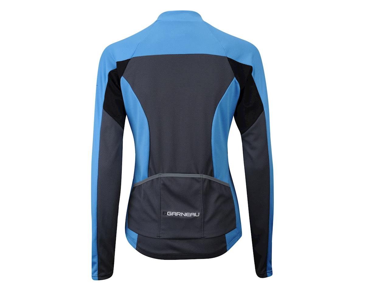 Louis Garneau Women's Volta Light Long Sleeve Jersey -- Performance Exclusive (Grey/Blue) (Xsmall)