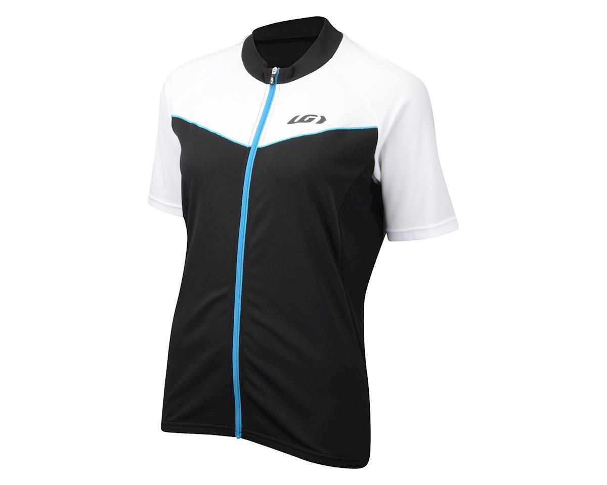 Louis Garneau Women's Pro Ice Short Sleeve Jersey - 2016 Performance Exclusive (Matte Black/White)