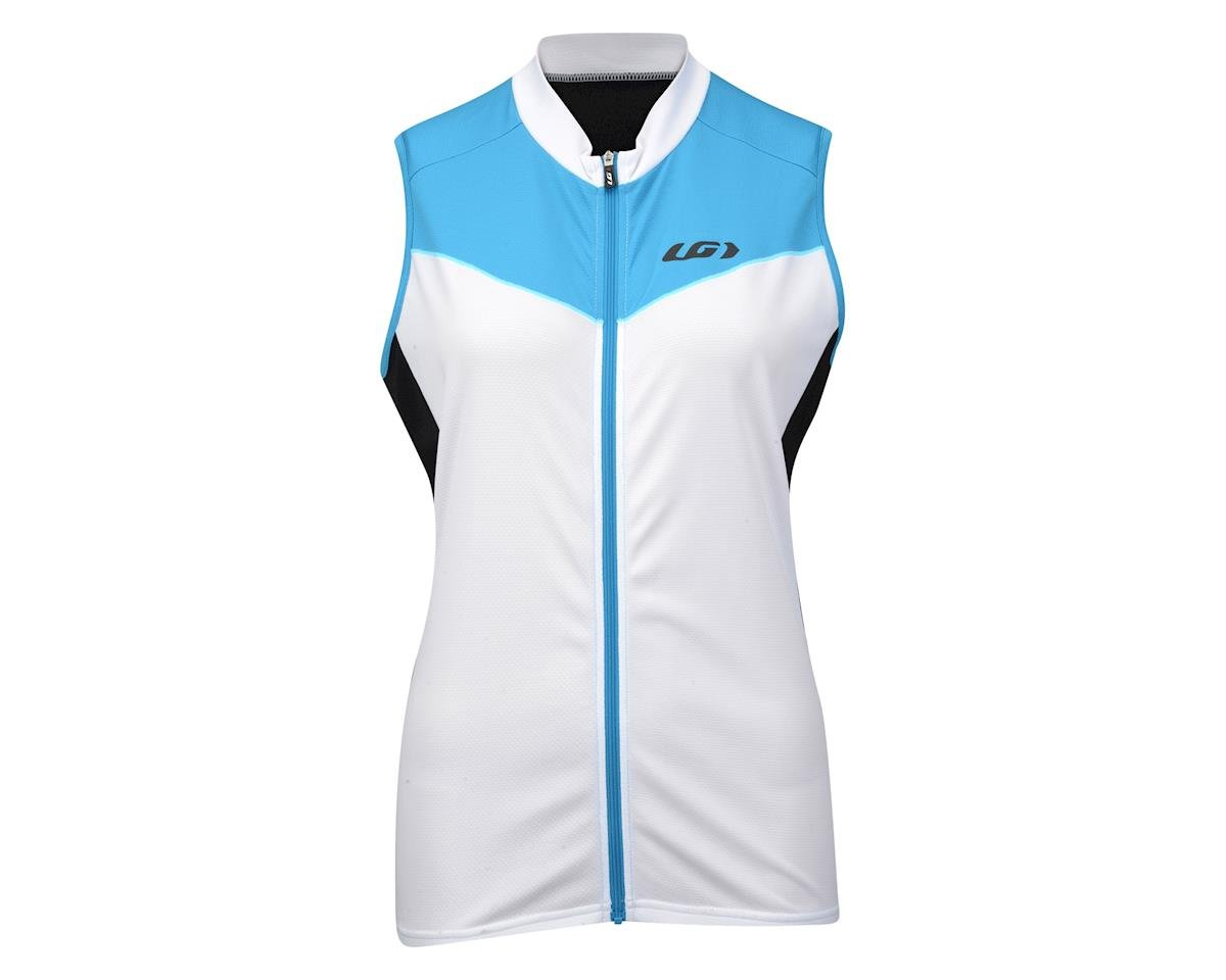 Louis Garneau Women's Pro Ice Sleeveless Jersey - Performance Exclusive (Blue/White)