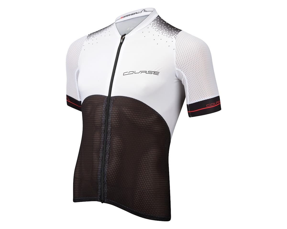 Louis Garneau Course Superleggera 2 Short Sleeve Jersey (Black/White)