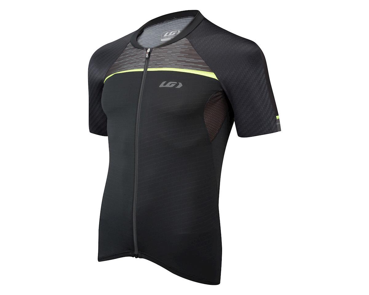 Louis Garneau Elite M2 RTR Short Sleeve Jersey (Matte Black/High Vis)