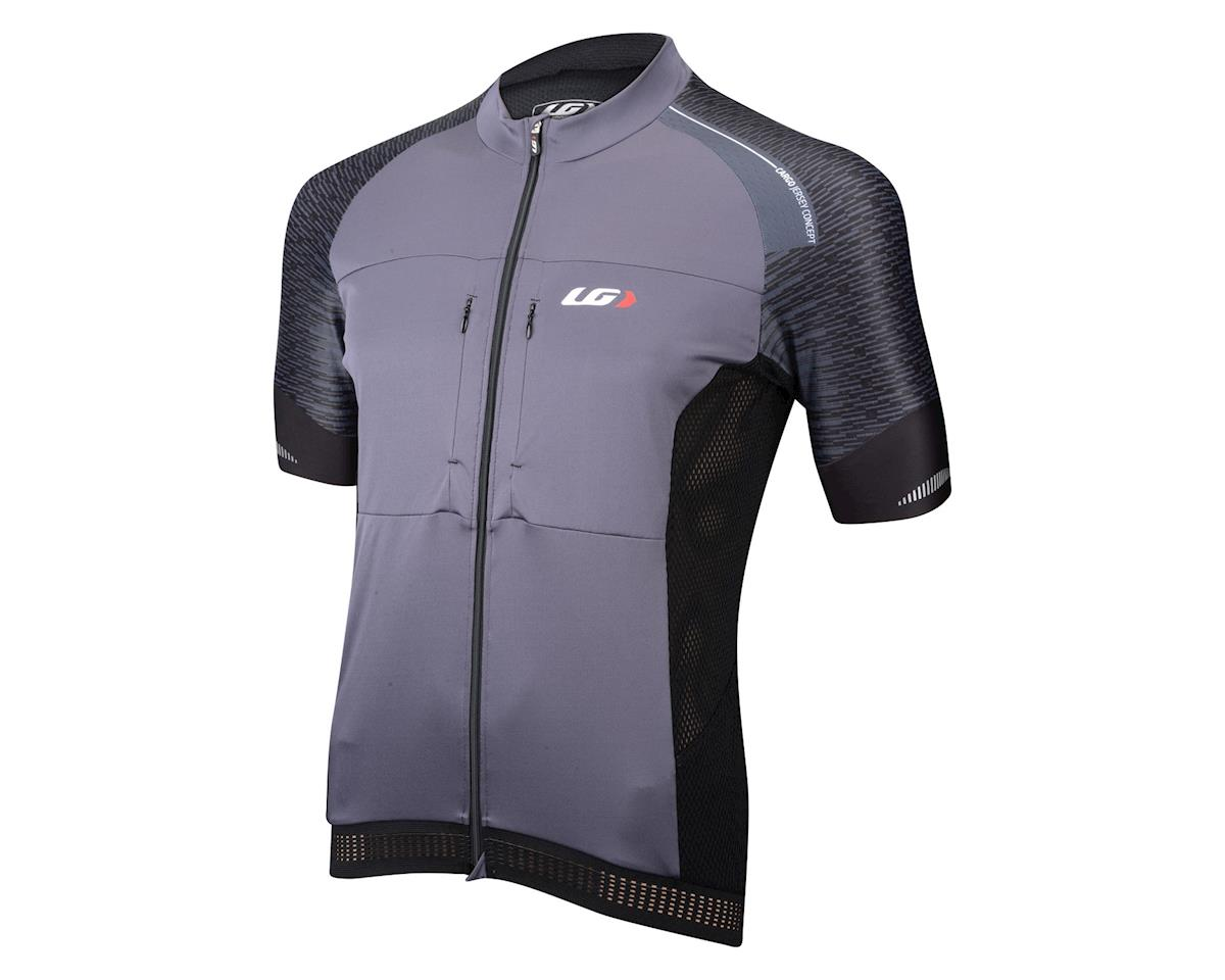 Louis Garneau Cargo Short Sleeve Jersey (Black/Grey)