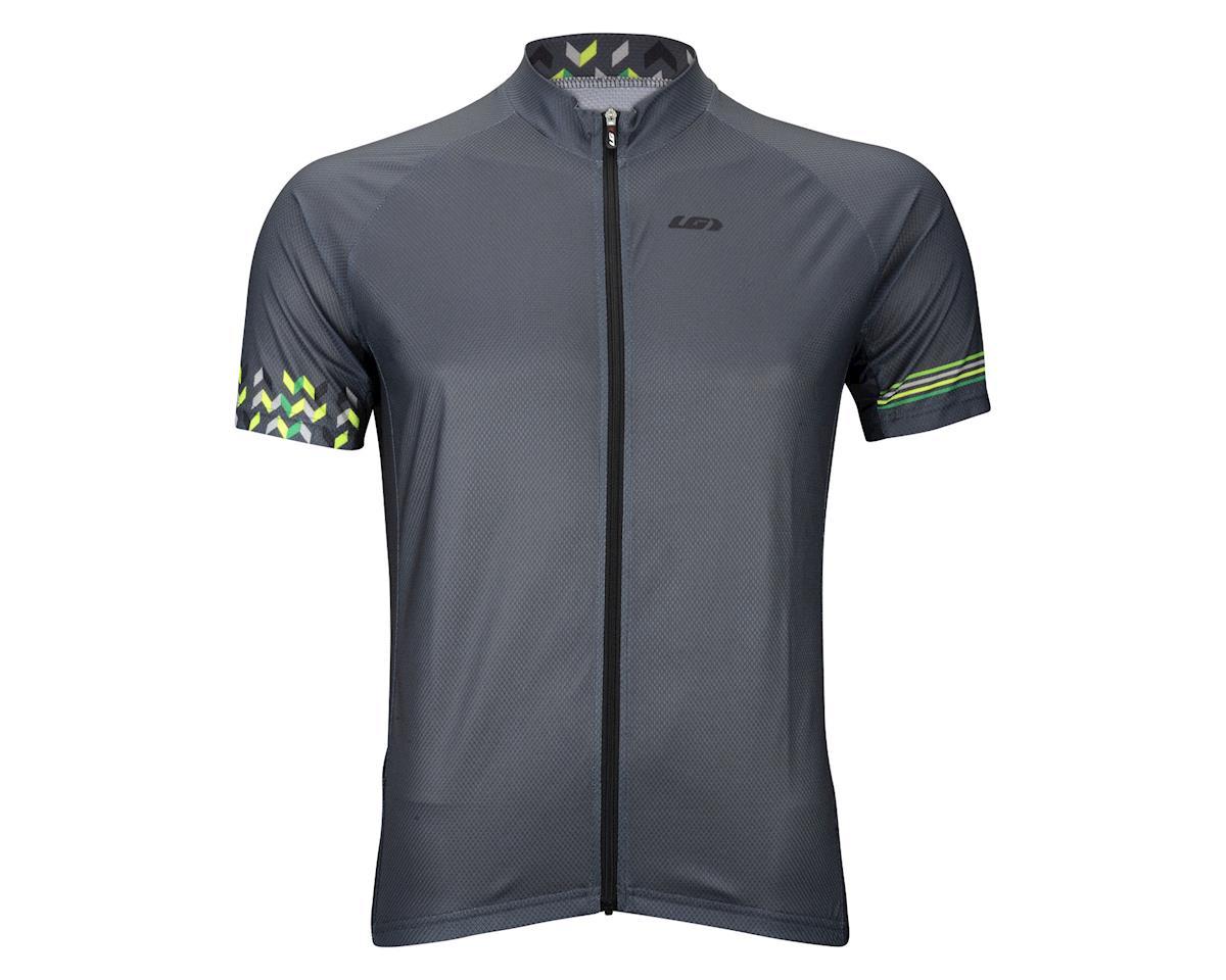 Louis Garneau Equipe GT Series Short Sleeve Jersey (Matte Grey/Neon Green)