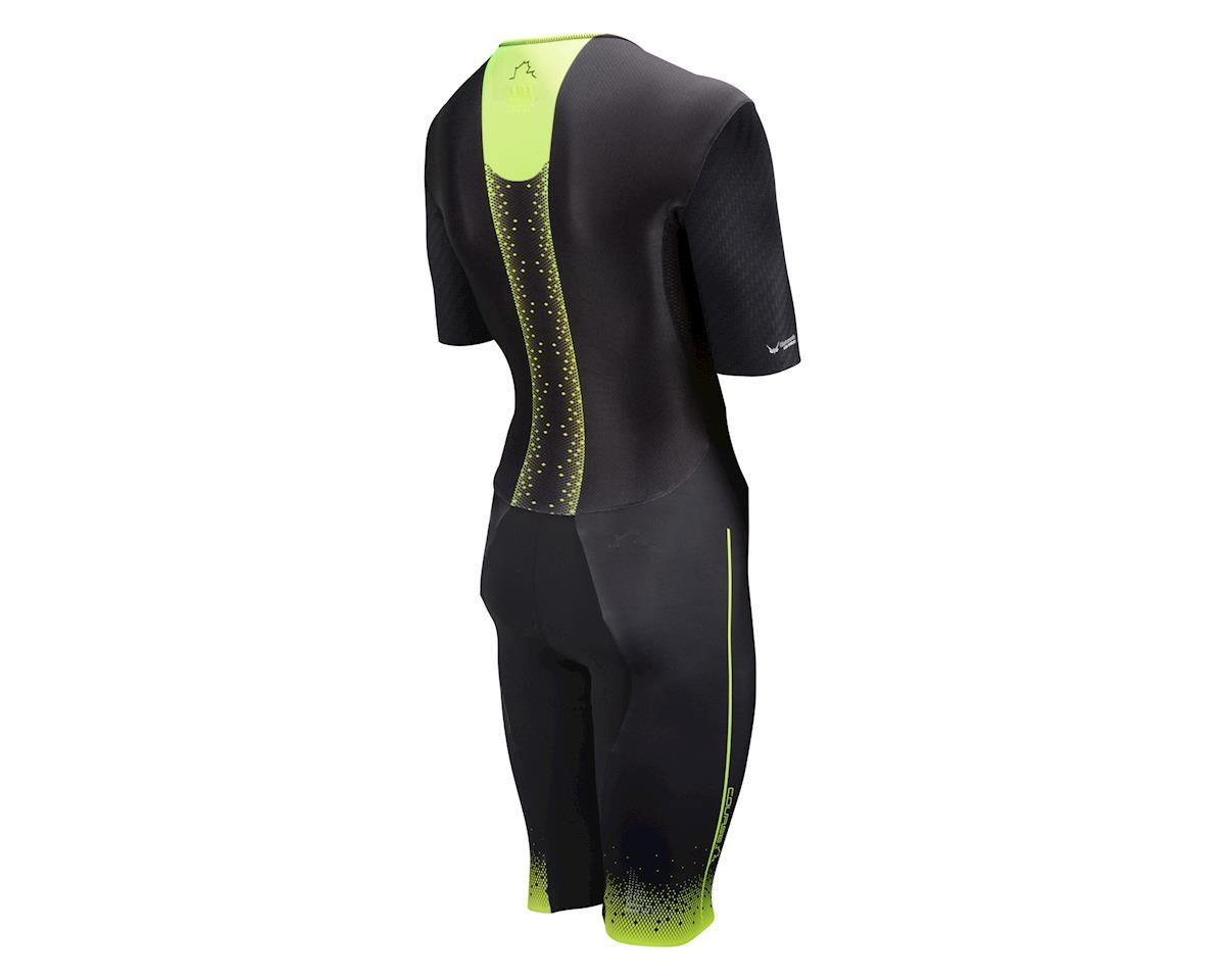 Louis Garneau Course M-2 Triathlon Skin Suit (Black/Yellow)