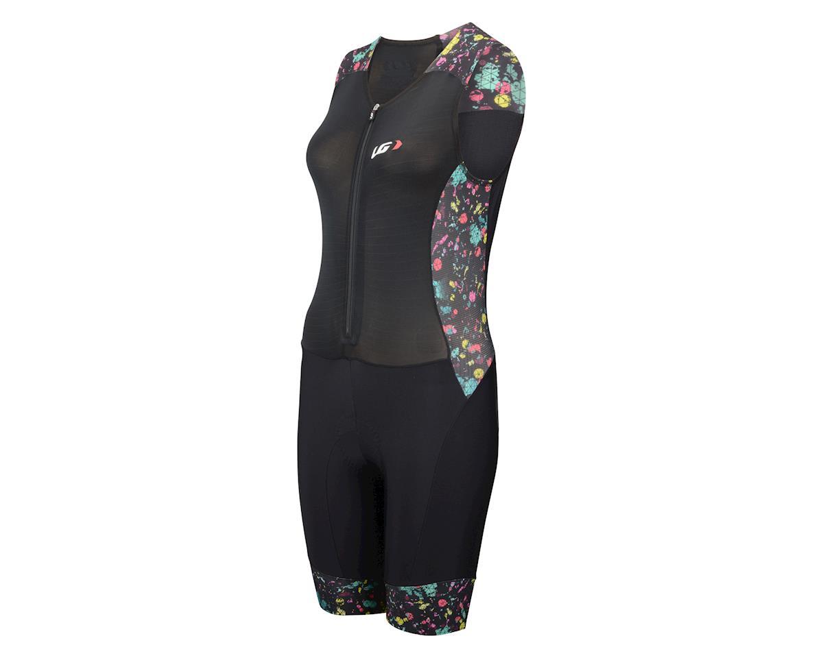 Louis Garneau Women's Pro Carbon Triathlon Suit (Black/Multi)