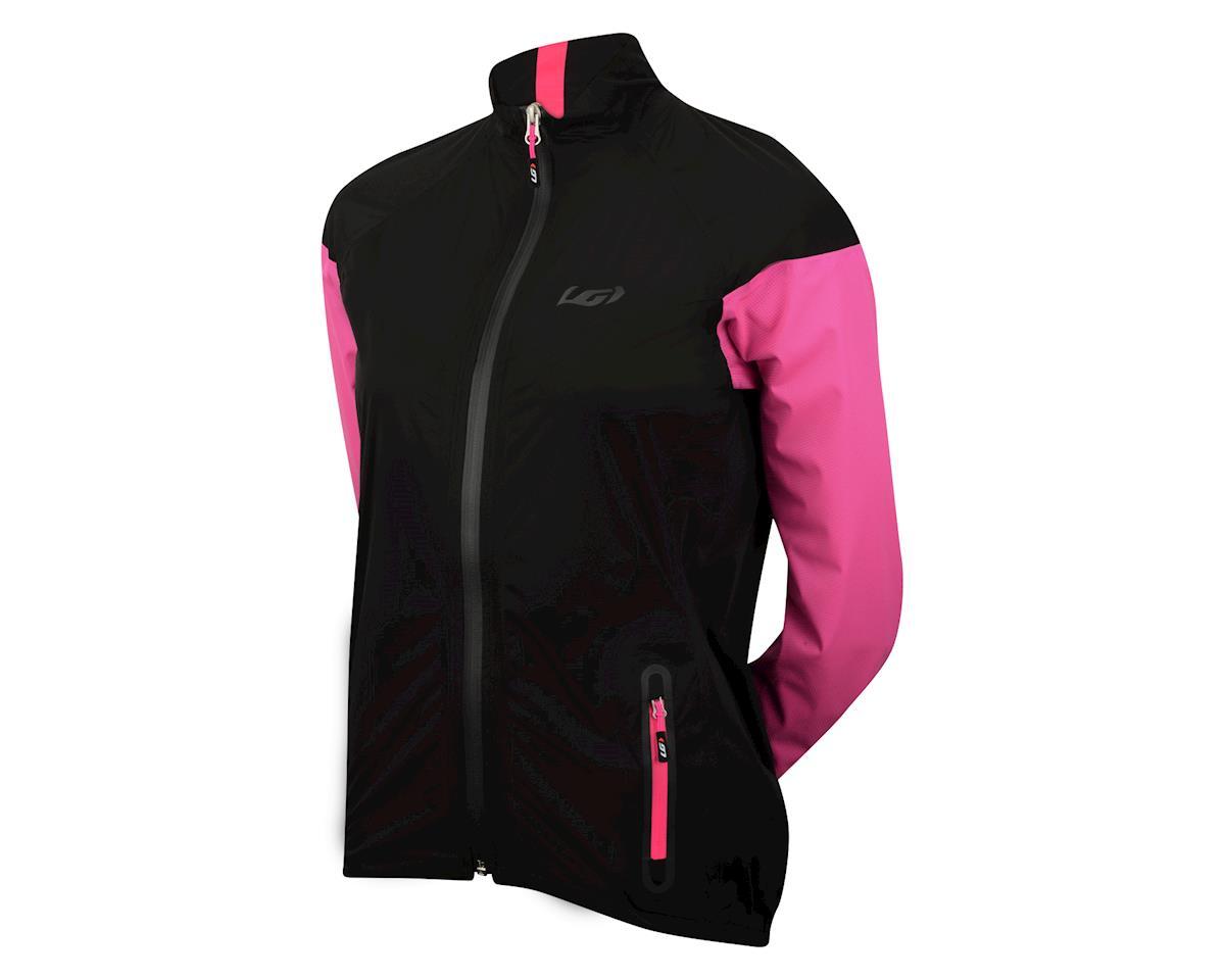 Louis Garneau Women's Torrent RTR Jacket (Black/Pink)