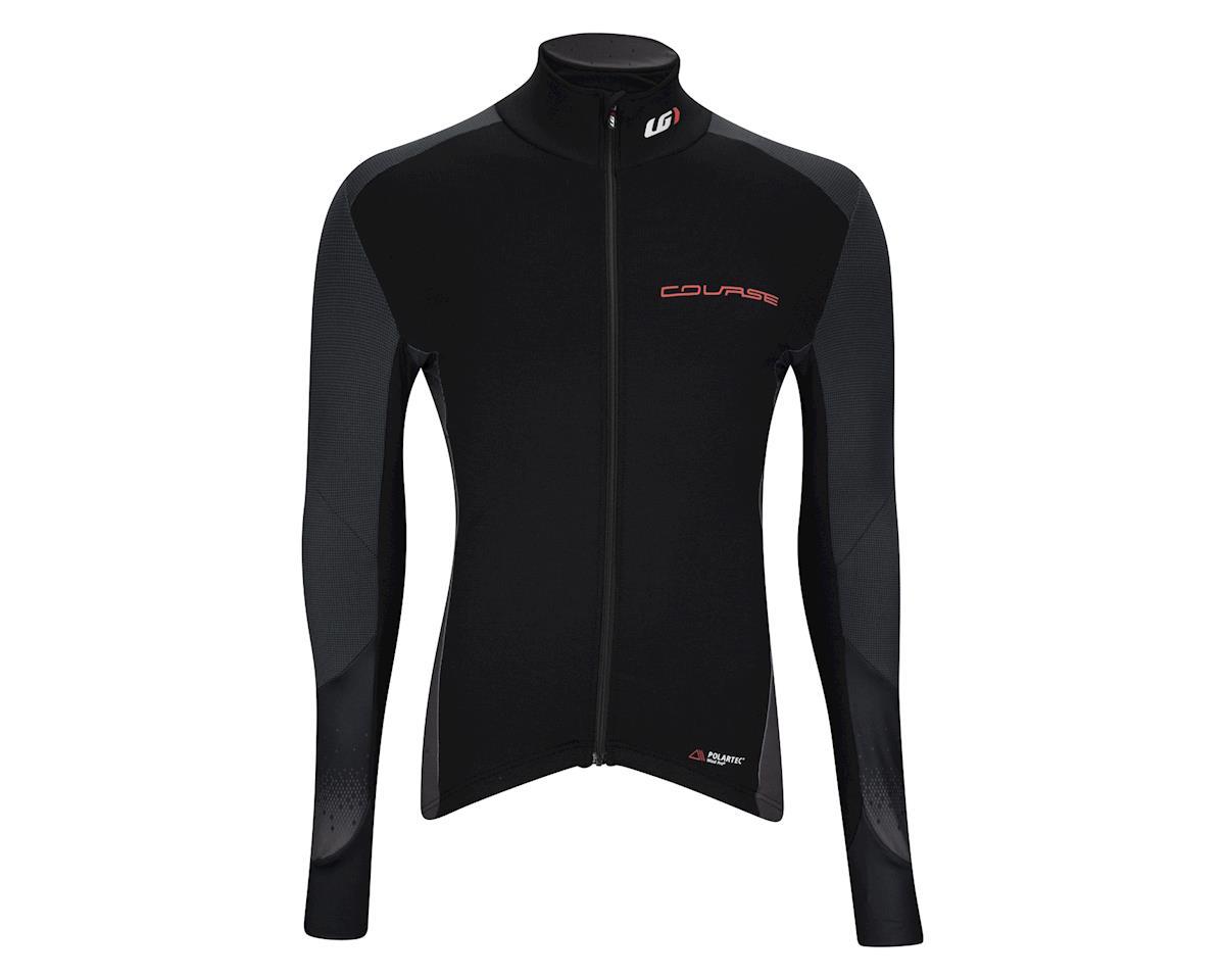 Image 3 for Louis Garneau Course Wind Pro Long Sleeve Jersey (Black/Red)