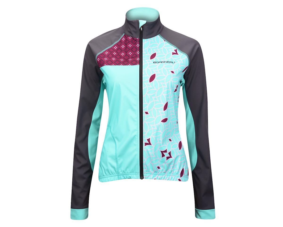 Image 3 for Louis Garneau Women's Boreal RTR Reflective Jacket - Performance Exclusive (Matte Grey/Mint)