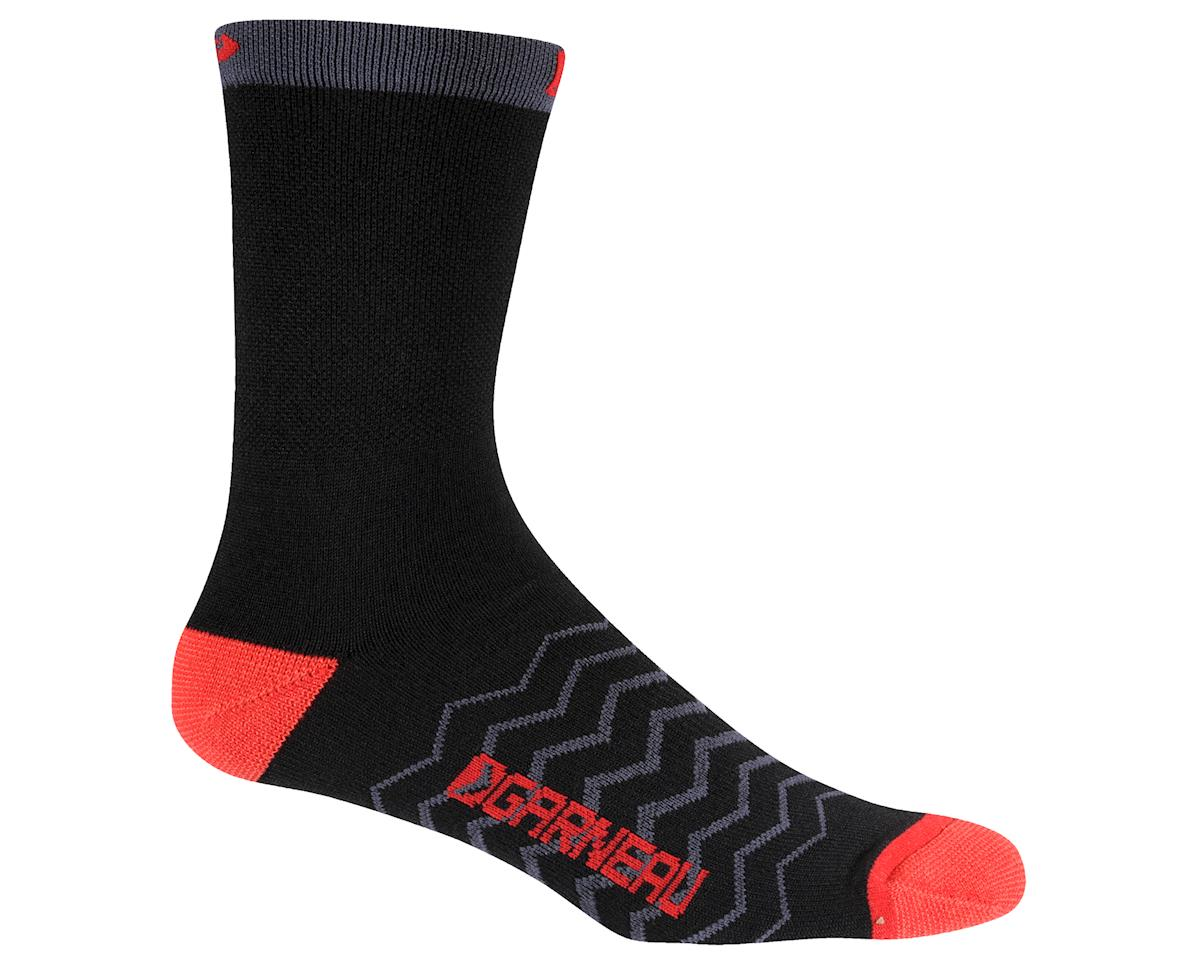 Louis Garneau Premiere Merino Wool Socks - Performance Exclusive (Black/Red)