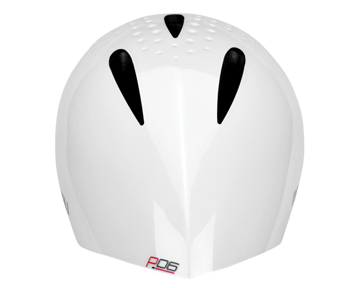 Image 3 for Louis Garneau P-06 TT/Triathlon Helmet (White)