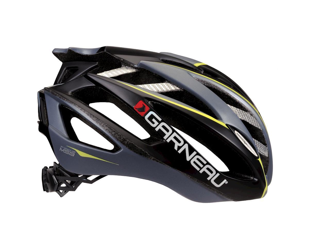 "Image 2 for Louis Garneau Diamond II Road Helmet (Black/Yellow) (Small 20.5-22"")"