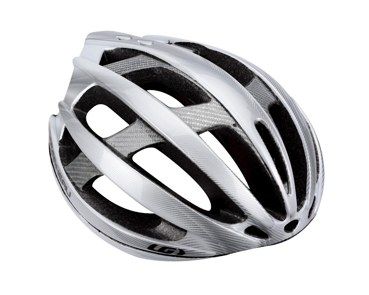 "Louis Garneau Quartz II Road Helmet (White) (Extra Large 24.5-25.75"")"