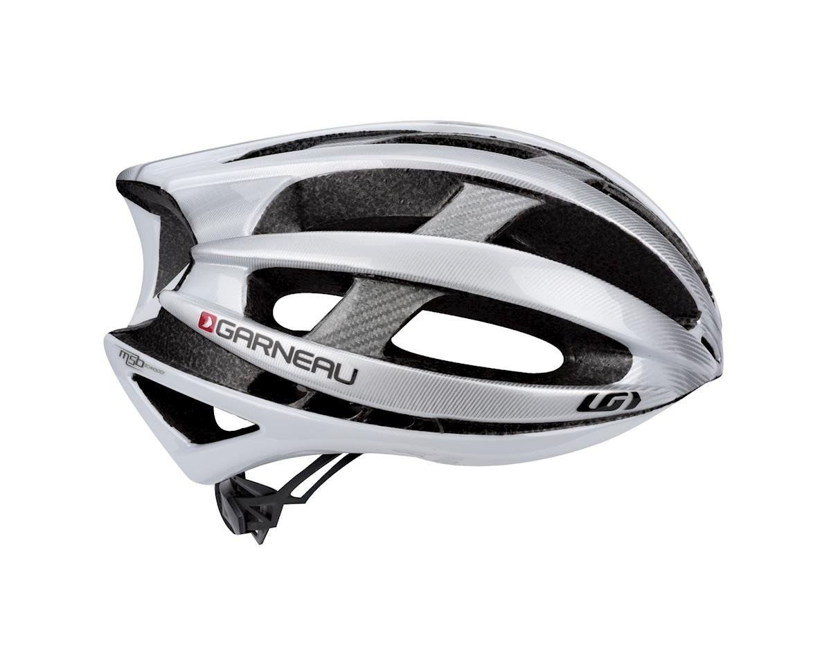 "Image 2 for Louis Garneau Quartz II Road Helmet (White) (Extra Large 24.5-25.75"")"