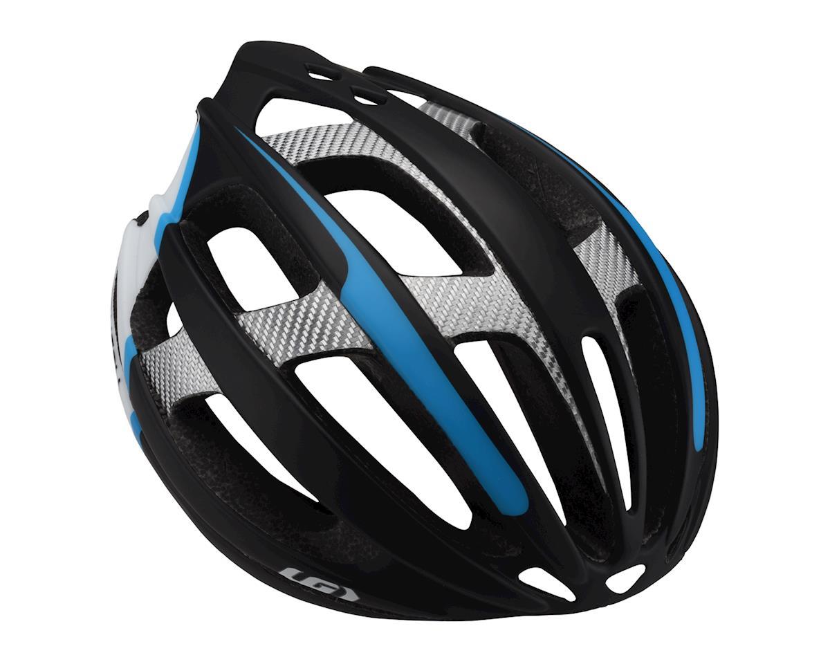 Image 1 for Louis Garneau Quartz II Helmet (Black/Blue/Silver) (Extra Large)