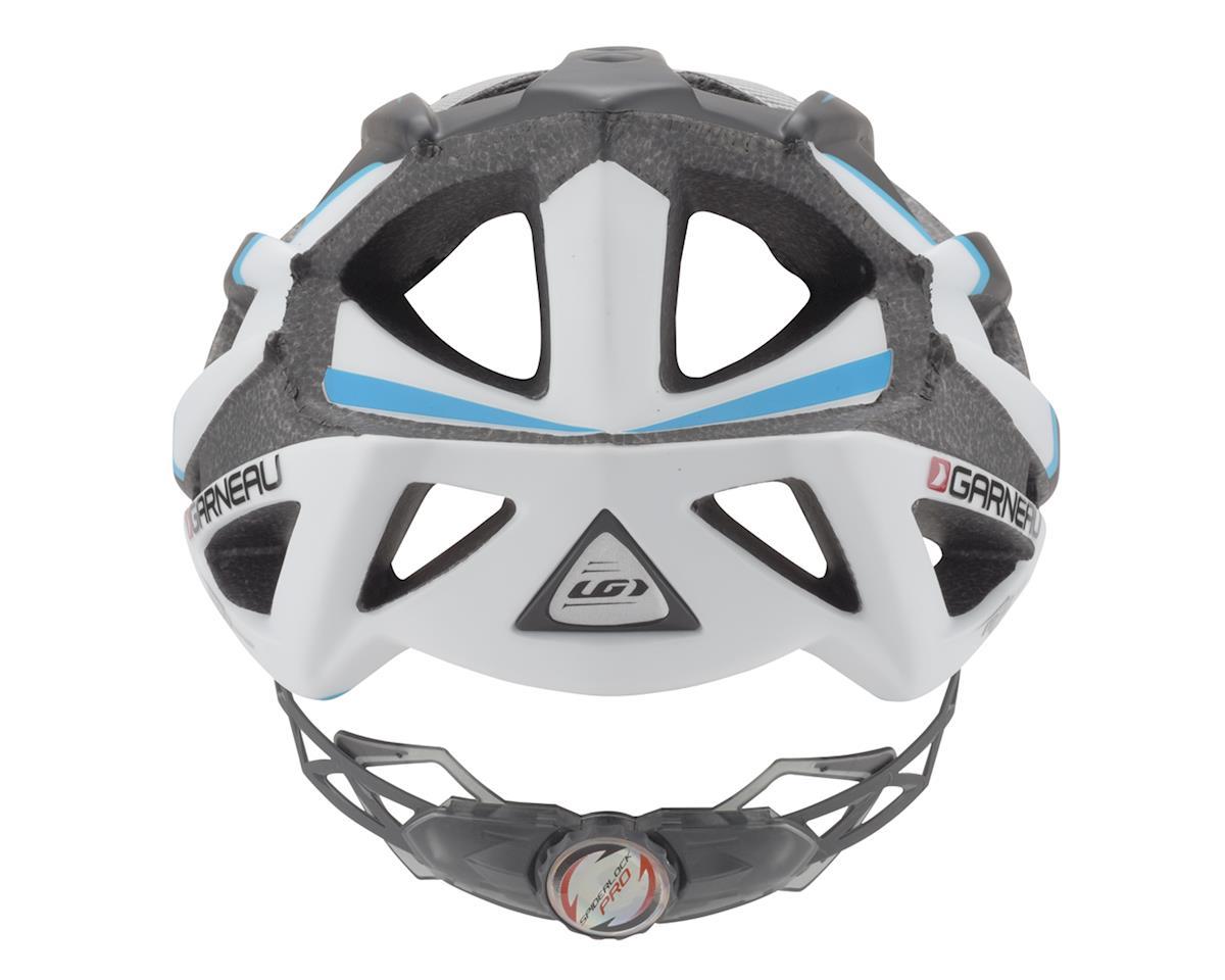 Image 3 for Louis Garneau Quartz II Helmet (Black/Blue/Silver) (Extra Large)