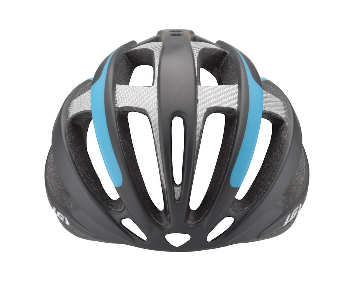Image 4 for Louis Garneau Quartz II Helmet (Black/Blue/Silver) (Extra Large)