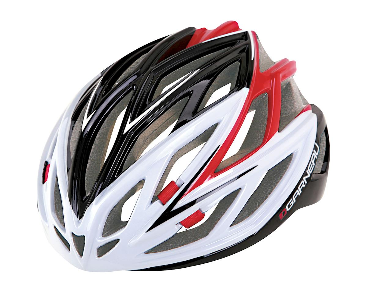 "Louis Garneau X-Lite Road Helmet (Black/Red) (Large 23.25-24.5"")"