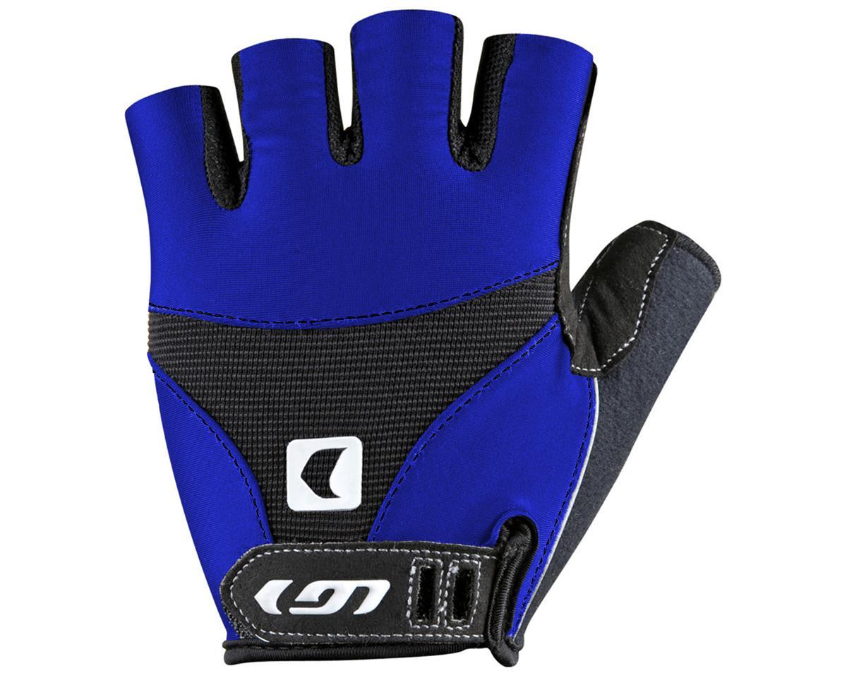 Louis Garneau 12C Air Gel Short Finger Bike Gloves (Royal Blue) (M)