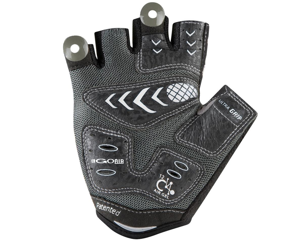 Louis Garneau 12C Air Gel Short Finger Bike Gloves (Black)