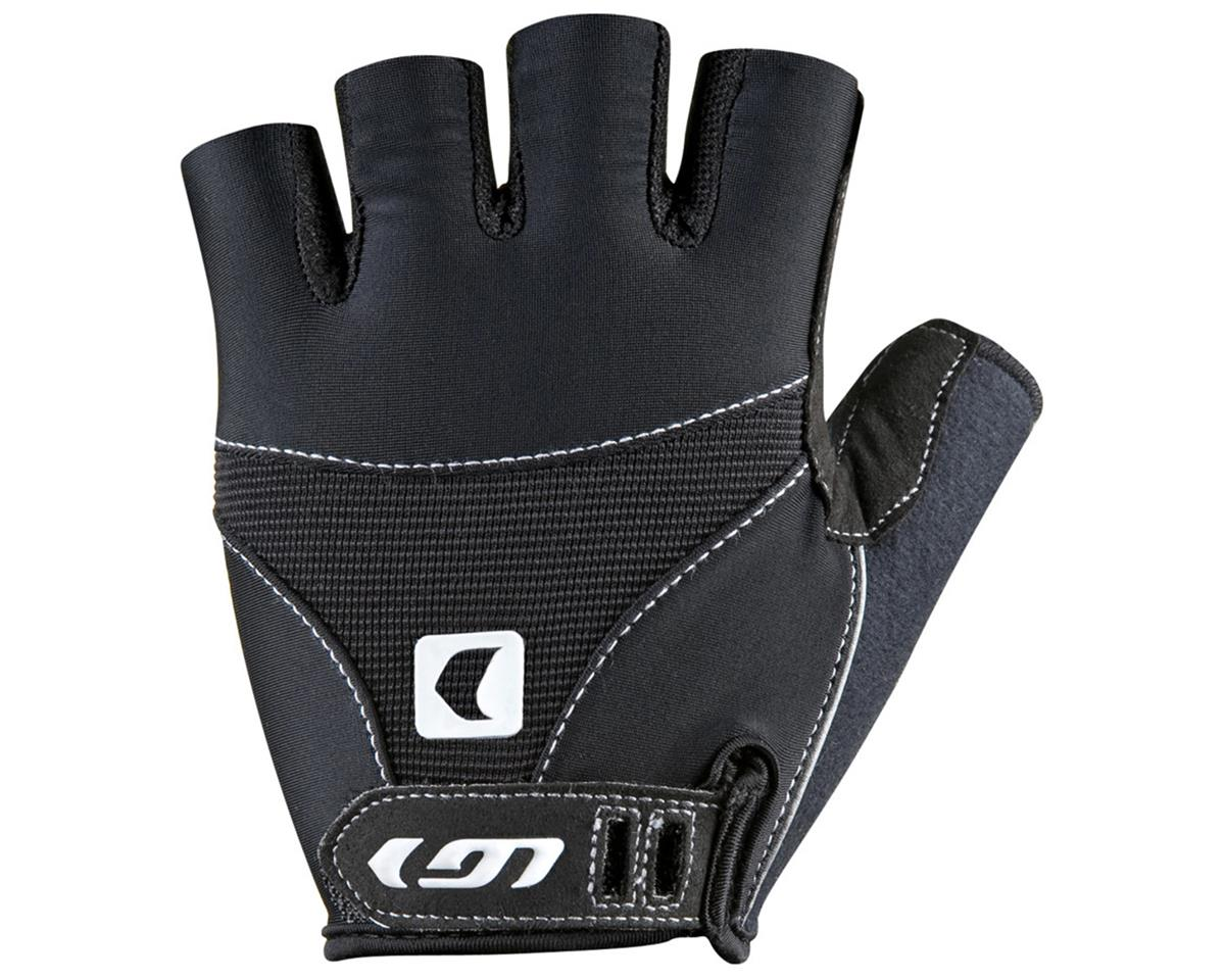 Louis Garneau 12C Air Gel Short Finger Bike Gloves (Black) (S)