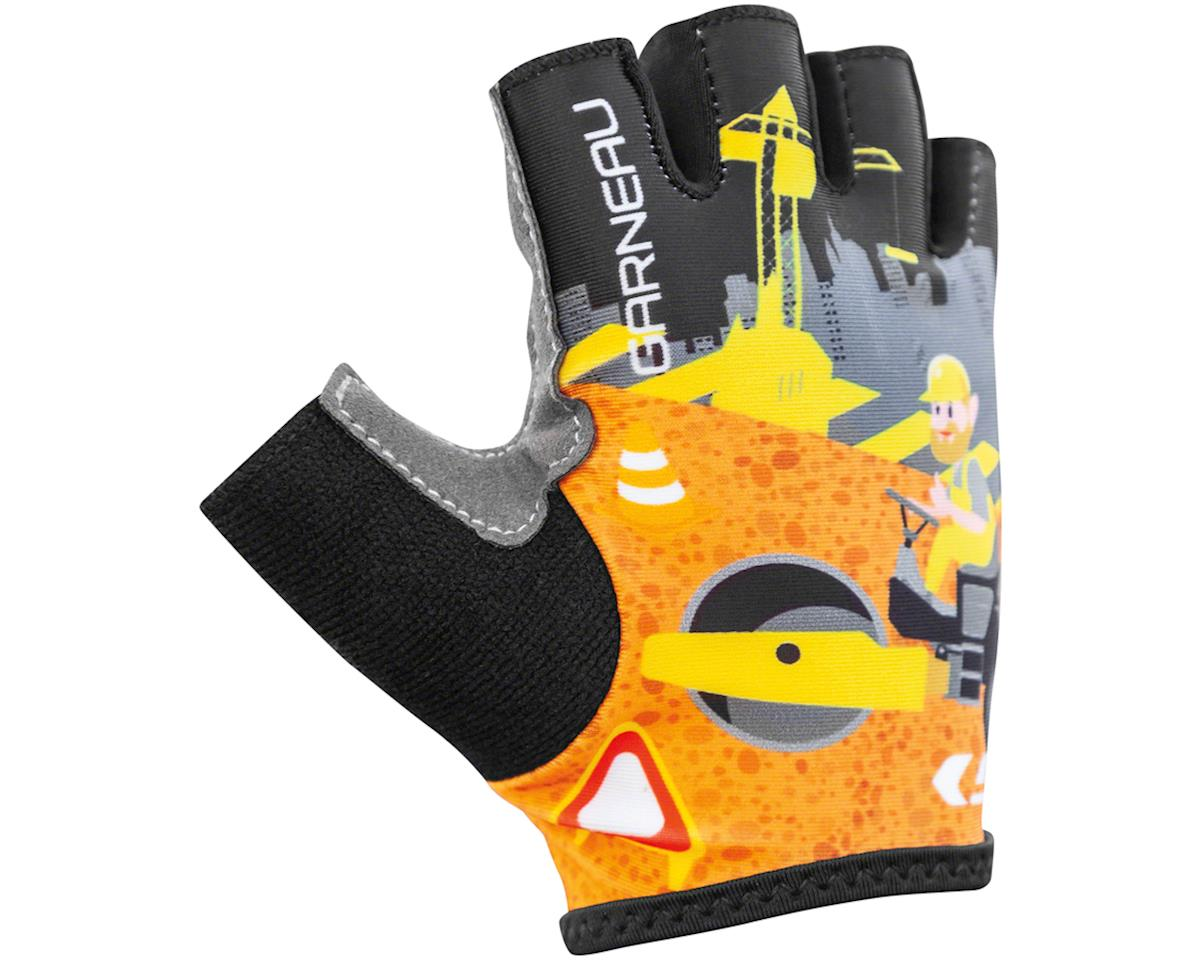 Image 1 for Louis Garneau Kid Ride Cycling Gloves (Construction) (6)