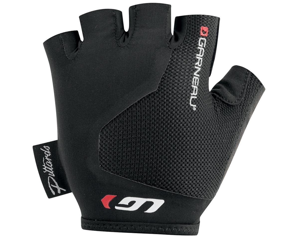 Louis Garneau Mondo 2 Women's Short Finger Bike Gloves (Black)