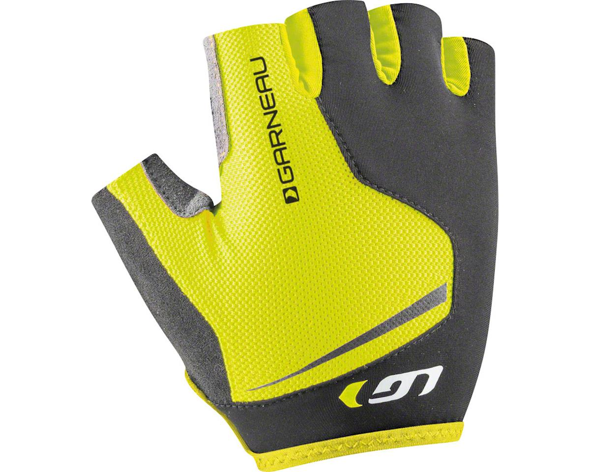 Louis Garneau Flare Men's Glove: Sulphur Spring Yellow SM