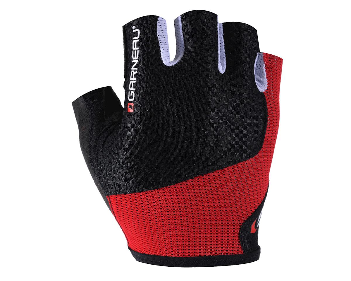 Louis Garneau Nimbus Evo Cycling Gloves (Black/Red) (S)