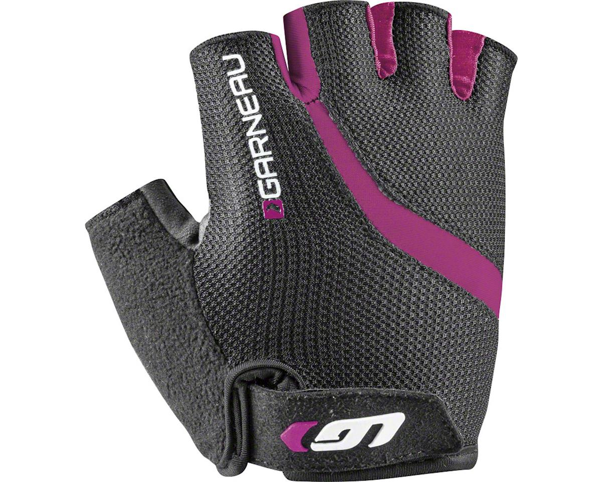 Louis Garneau Biogel RX-V Women's Cycling Glove (Black/Fuscia Festival Pink)