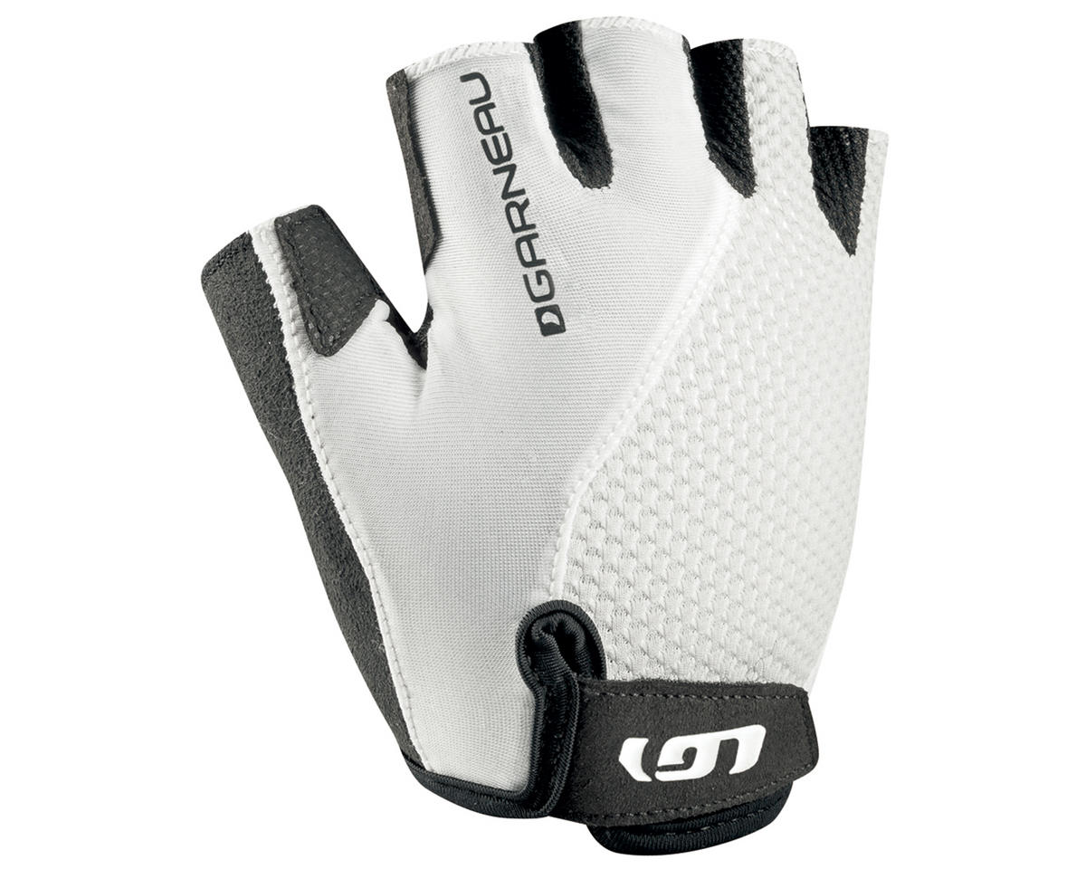 Louis Garneau Women's Air Gel + Cycling Glove (White) (M)