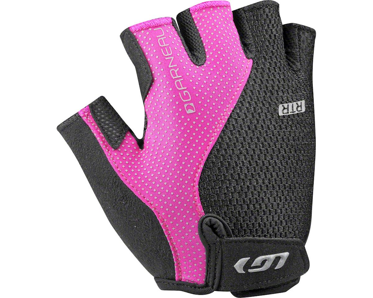 Louis Garneau Women's Air Gel + RTR Gloves (Black/Pink) (L)