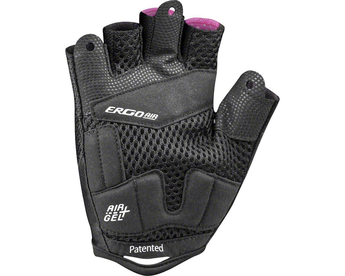 Louis Garneau Women's Air Gel + RTR Gloves (Black/Pink) (M)