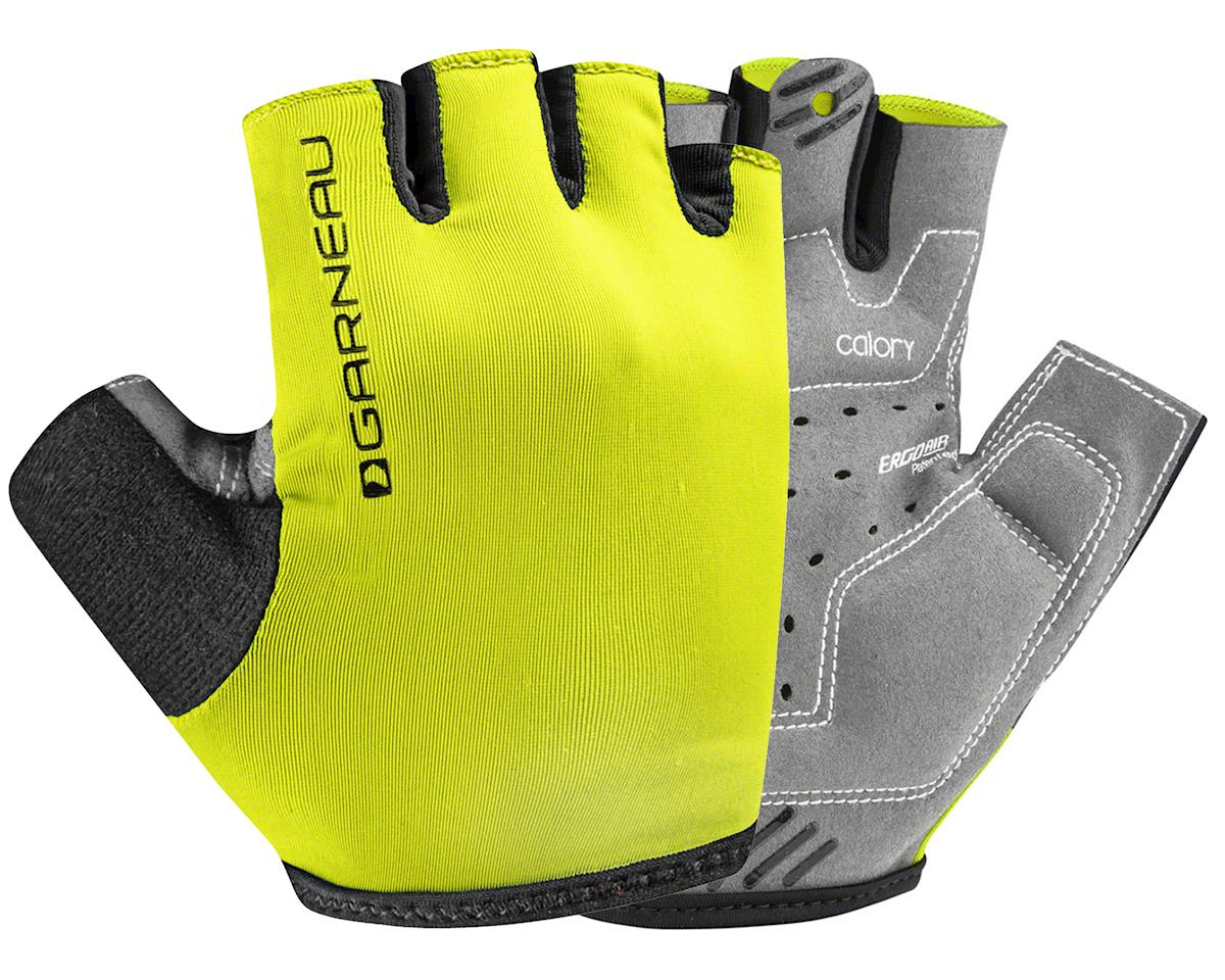 Louis Garneau JR Calory Youth Gloves (Bright Yellow) (Kids L)