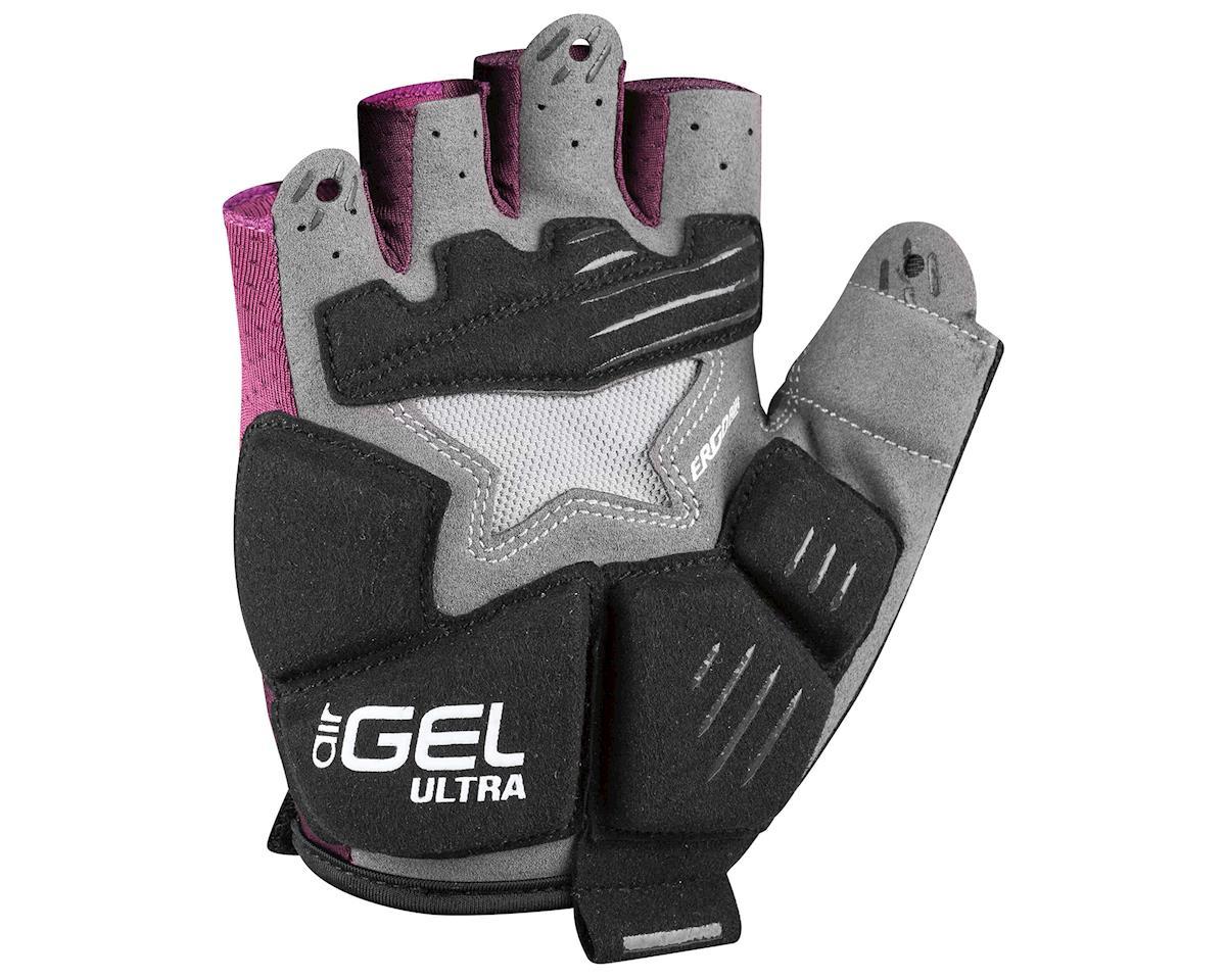 Louis Garneau Women's Air Gel Ultra Gloves (Magenta Purple) (L)