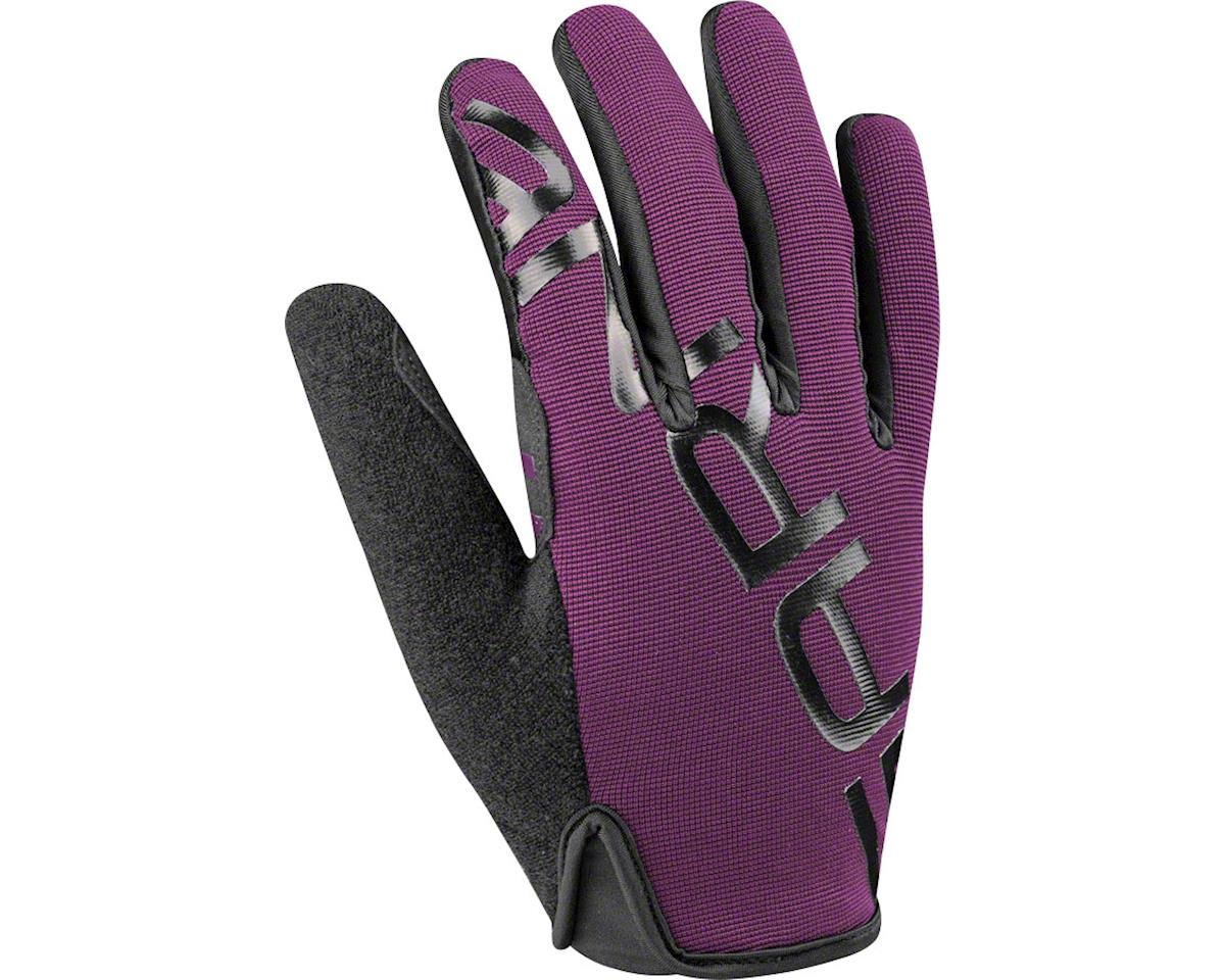 Louis Garneau Ditch Mountain Bike Gloves (Purple/Grey) (L)