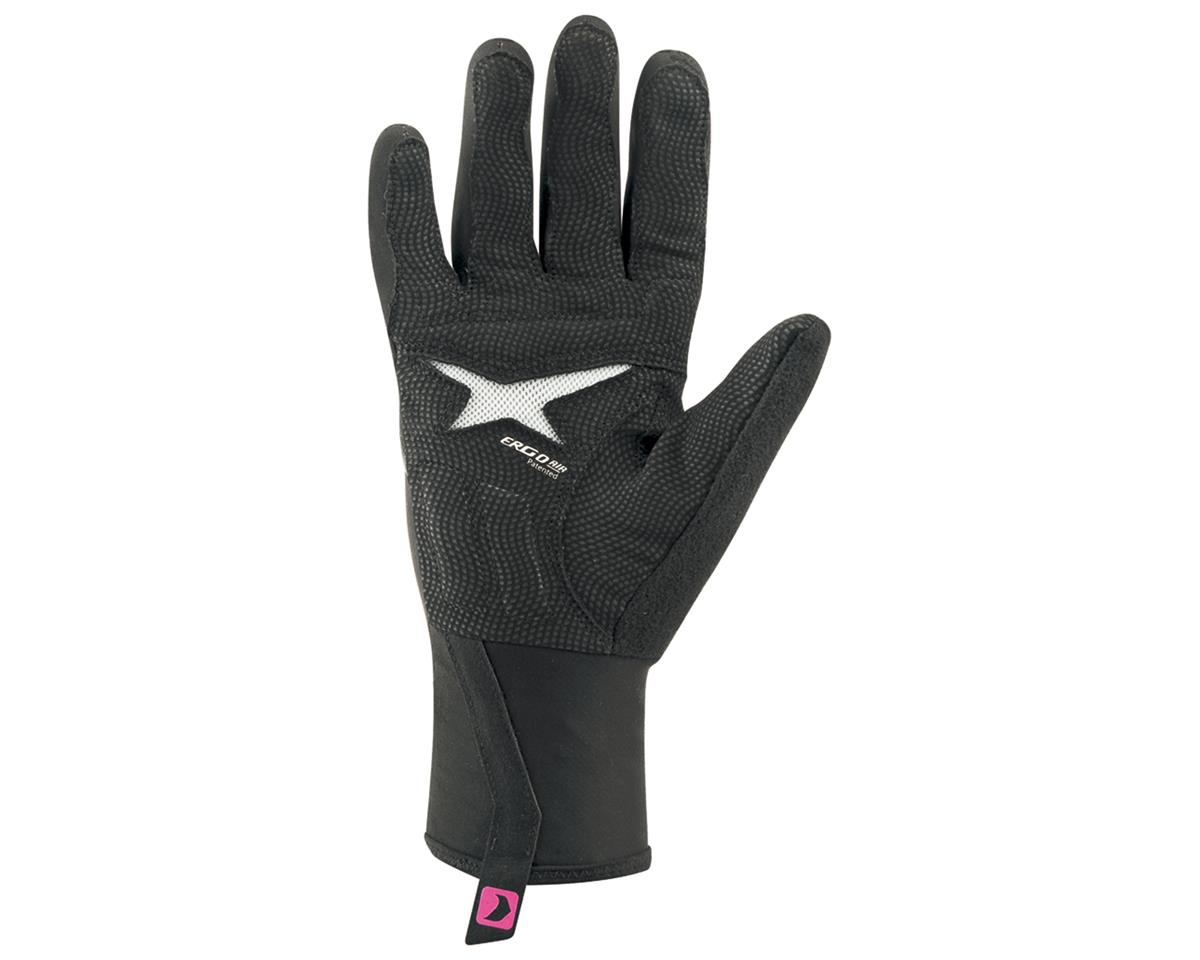 Louis Garneau Rafale Women's Bike Gloves (Black) (L)