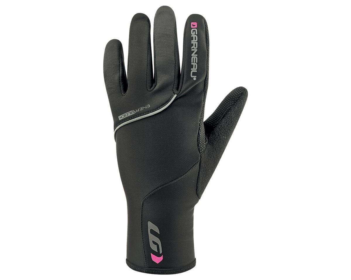 Louis Garneau Rafale Women's Bike Gloves (Black) (S)