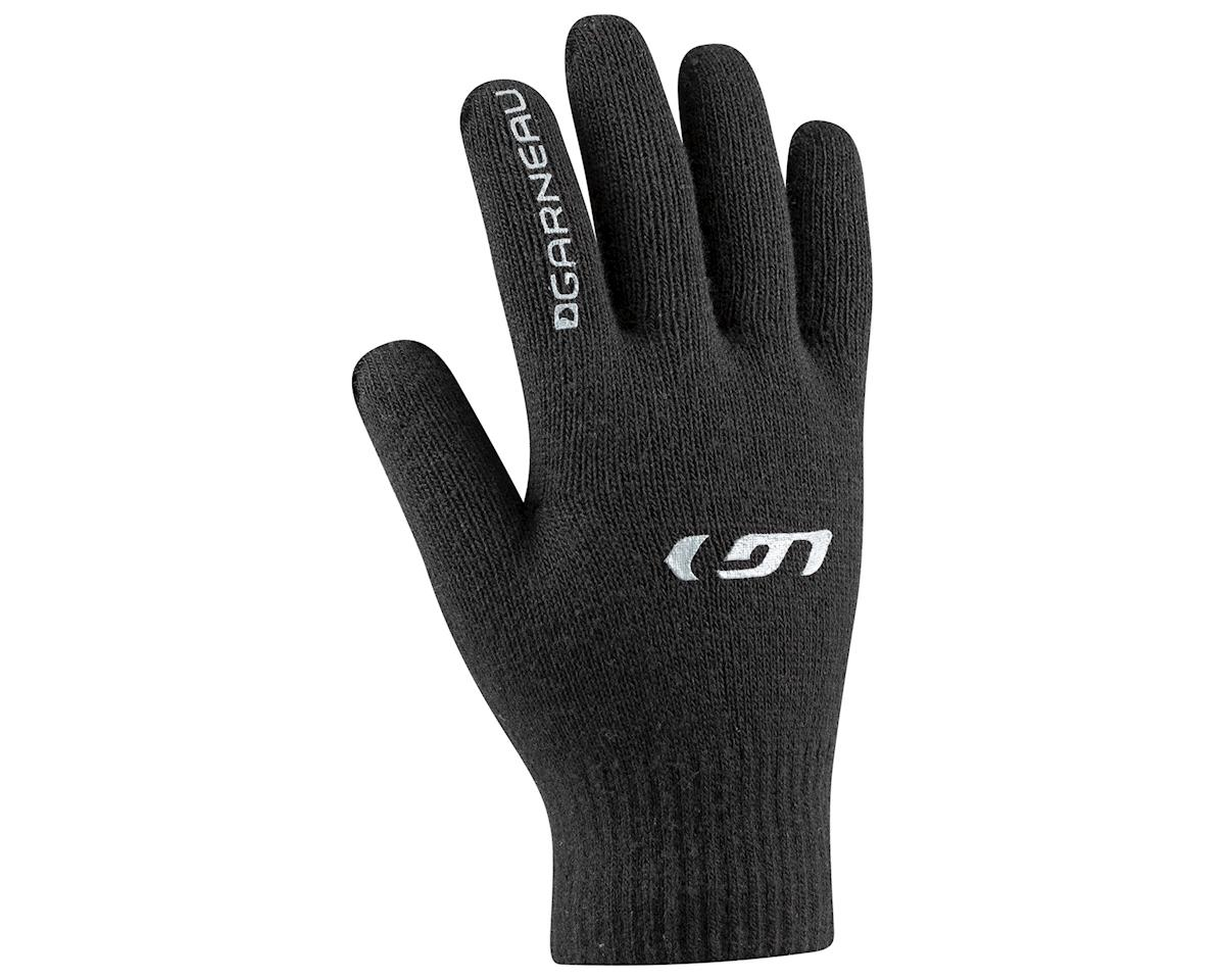 Louis Garneau Tap Glove: Black One Size