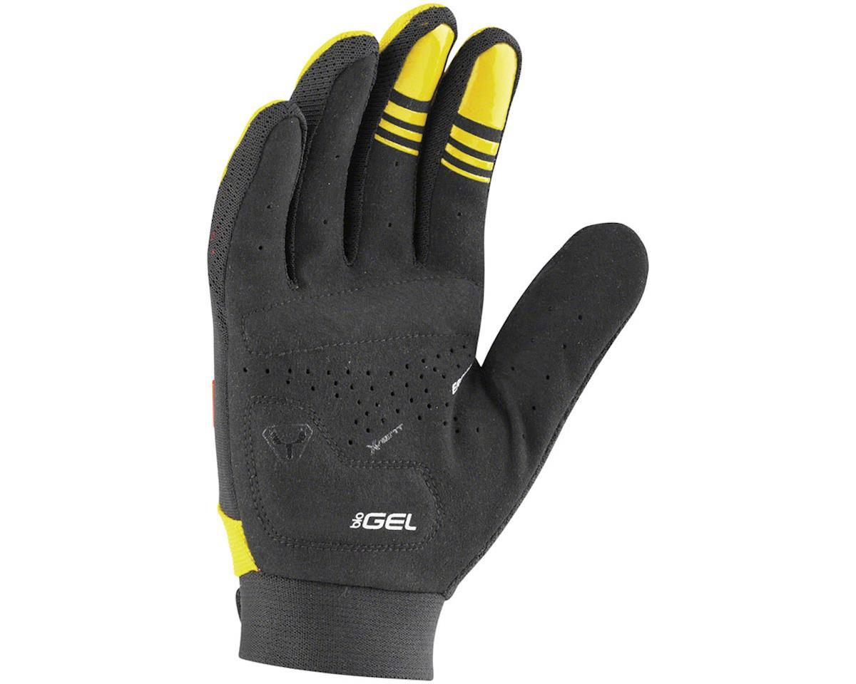 Louis Garneau Elan Gel Junior Gloves (Black/Yellow) (Kids L)