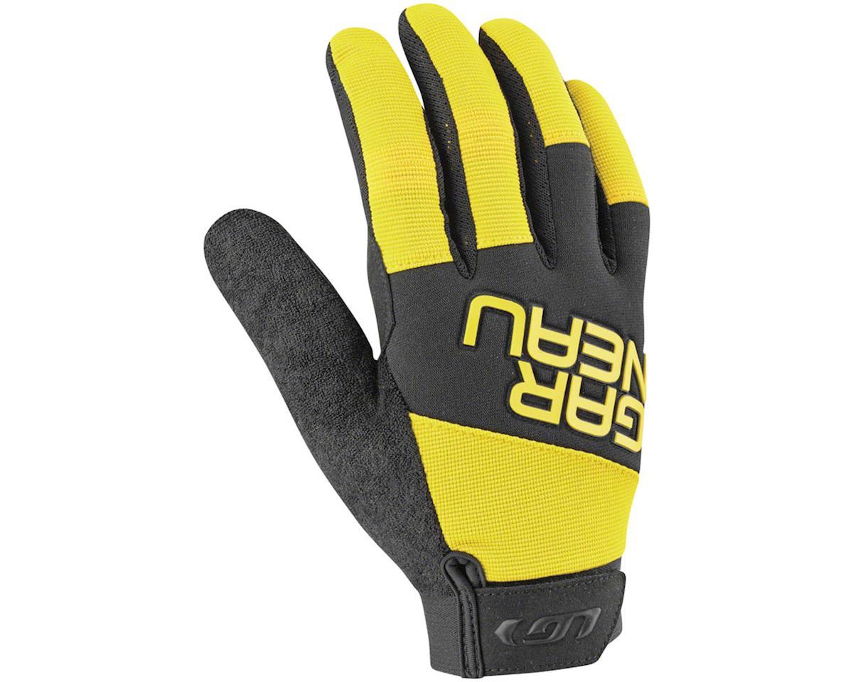 Louis Garneau Elan Gel Junior Gloves (Black/Yellow) (Kids M)
