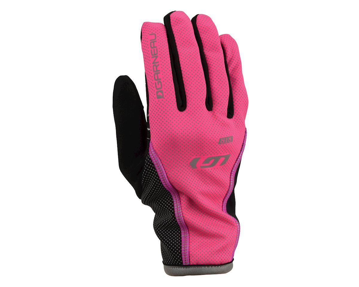 Louis Garneau Women's Rafale RTR Gloves (Pink) (L)