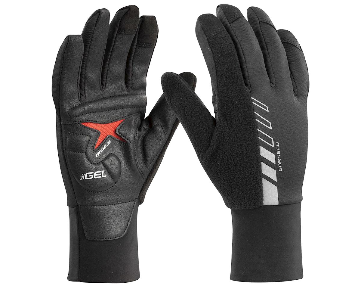 Louis Garneau Biogel Thermal Full Finger Gloves (Black) (L)