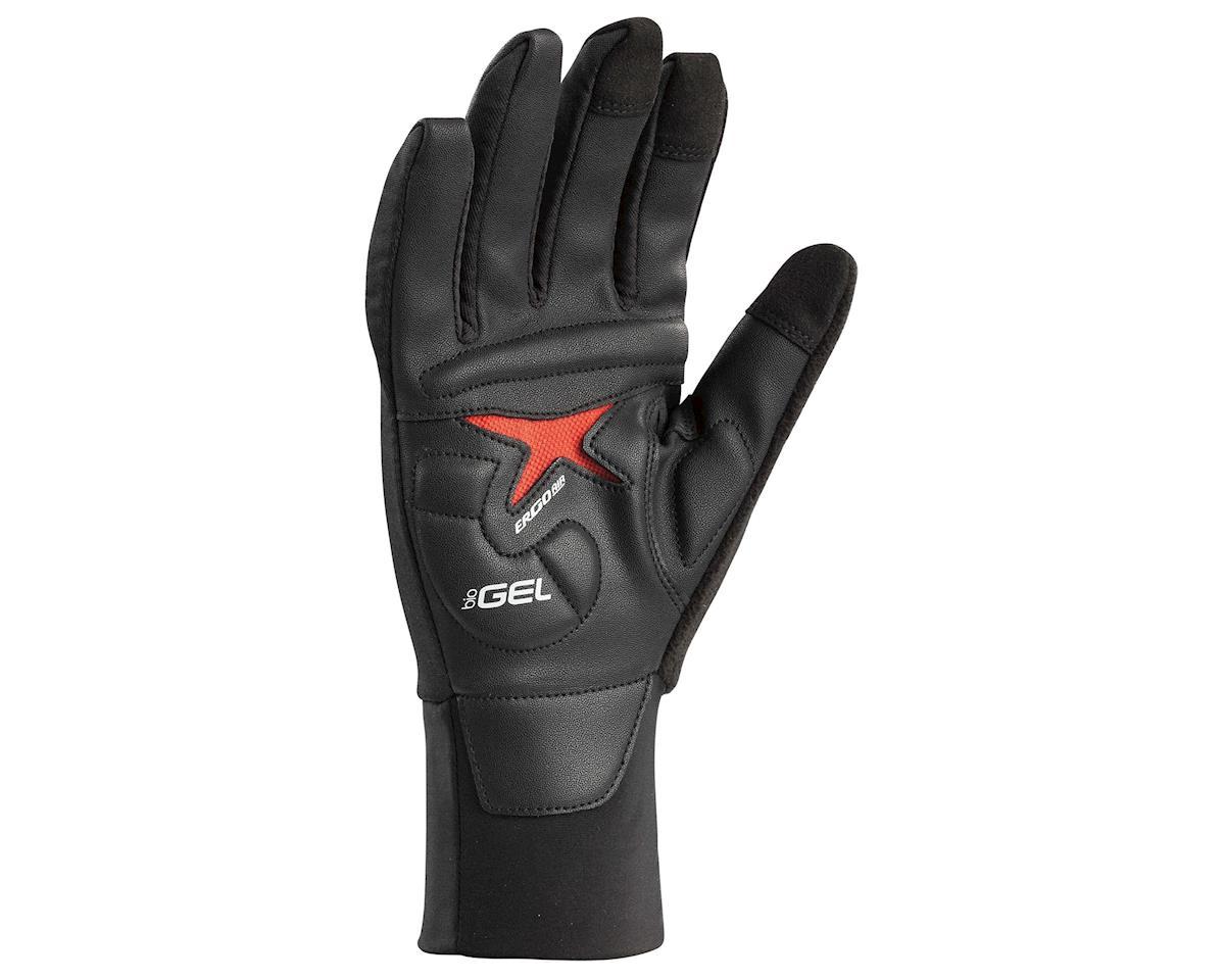 Louis Garneau Biogel Thermal Full Finger Gloves (Black) (2XL)