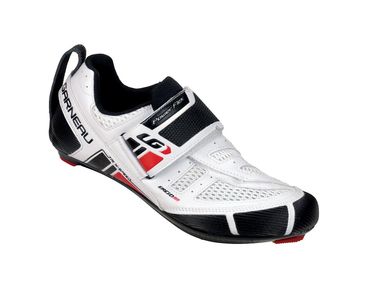 Louis Garneau Tri X-speed Triathlon Shoes (White)