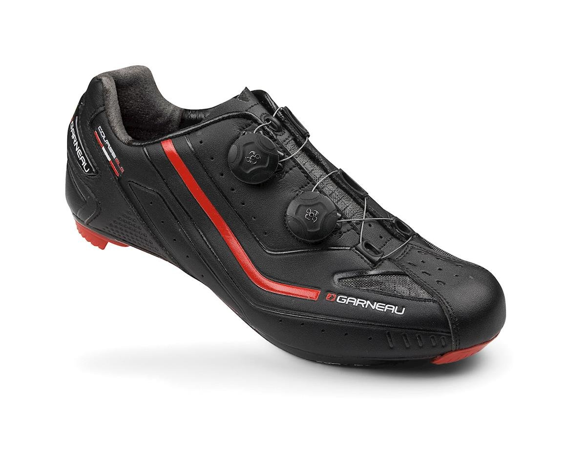 Louis Garneau Course 2LS Carbon Road Shoes (White/Red)